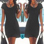 Larobe à pois : un vêtement élégant pouvant être porté en toute occasion