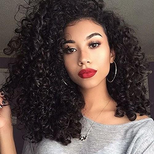 cheveux kinky curly brésiliens