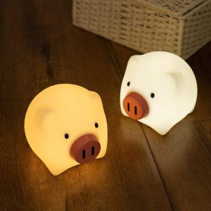 veilleuse enfants cochon
