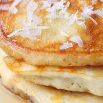 Recette: pancakes à la noix de coco