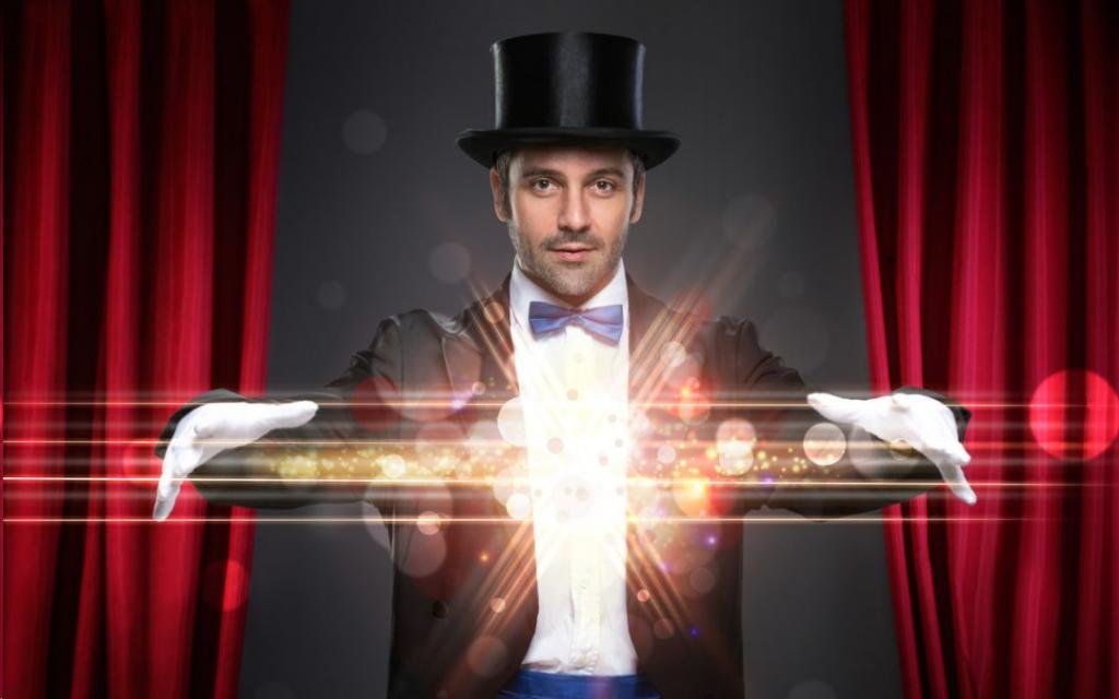 magicien évènement