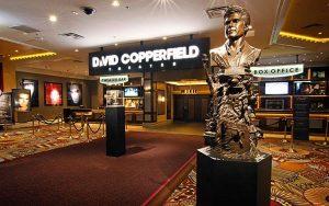 spectacle de magie David Copperfield las Vegas