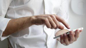 ecran tactile smartphone